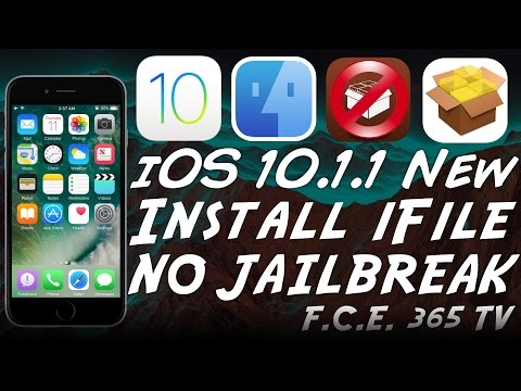 iOS 10.1.1 - How to Install iFile on iPhone - NO Jailbreak