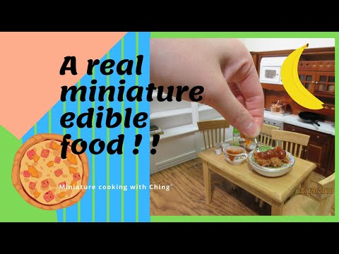 Recipes cooking channel network miniature cooking kids food network tiny real edible food recipes meatballs spaghetti forumfinder Gallery