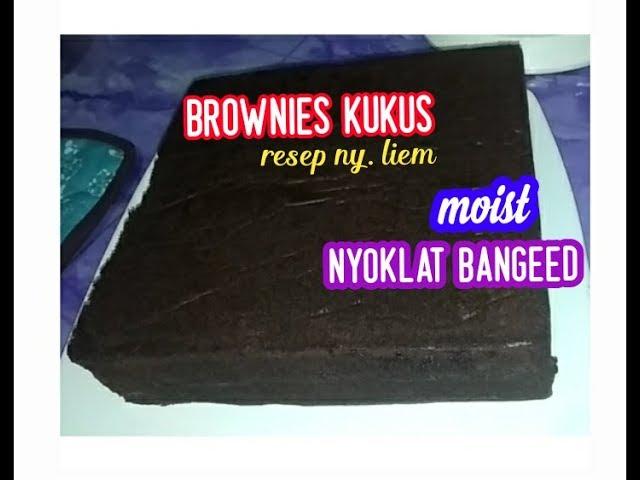 Brownies kukus // lembut & nyoklat//resep ny. liem