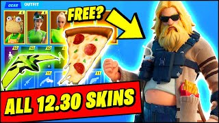 *NEW* FORTNITE 13.20 UPDATE SKINS, ALL FREE STYLES & NEW MEME SKIN DAD BOD JONESY