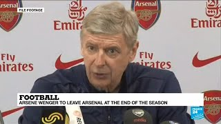 Football: arsene wenger to leave arsenal at the end of season