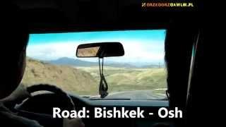 Road Bishkek - Osh (Tien Shan Mountains, Kyrgyzstan) / Droga Biszkek - Osz (Tien Szan, Kirgistan)