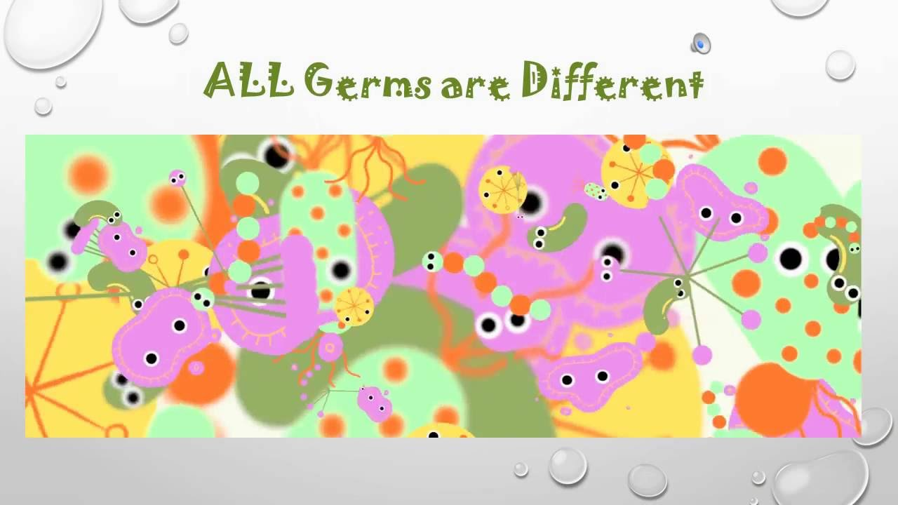 Teaching kids about germs - YouTube