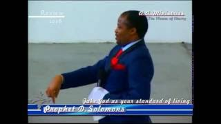 Mugabe will Die But... Prophecy By Prophet D Solomons (Abangcwele Apostolic Ministries)