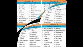 jadwal liga spanyol