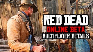 Red Dead Redemption 2 ONLINE - NEW DETAILS, HOW TO PLAY & GAMEPLAY CHANGES