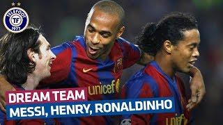 Souvenez-vous : le Barça de Messi, Henry et Ronaldinho