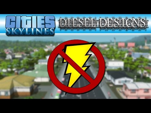 Cities: Skylines: Mini: No Power Plants, No Power Lines, EVER! (City Building Series 60FPS)