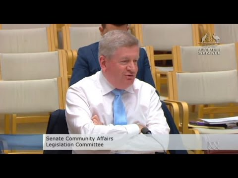 """""""What's mansplaining?"""" Senator Mitch Fifield offended by Senator Katy Gallagher's allegation"""