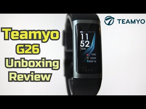 Smartband Teamyo G26. Unboxing And Review.