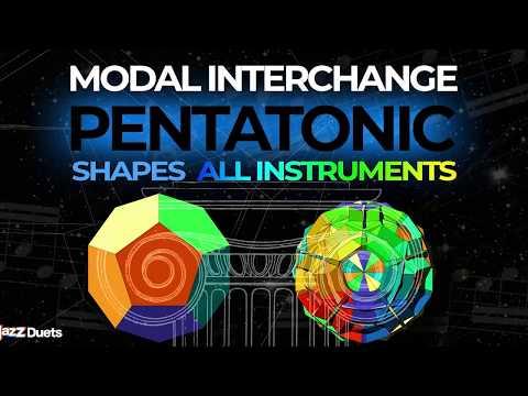 Pentatonic Modal Interchange Tutorial/Exercises