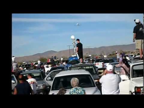Endeavour Final Flyover - Palmdale, California