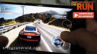 NFS The Run Android Gameplay + Download APK 2019