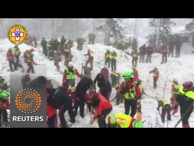 Search continues for 23 missing at avalanche hotel