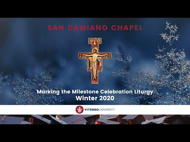 Marking the Milestone - Winter 2020 (Dec. 19th) | San Damiano Chapel