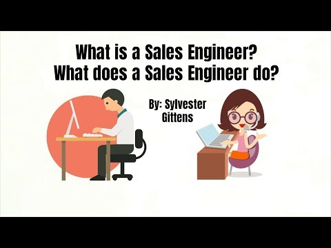 What is a Sales Engineer? What are the job responsibilities of a Sales Engineer? | 2018