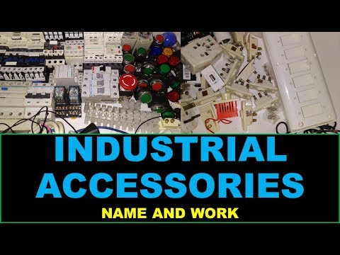 Industrial Electrical Accessories Name And Work - RYB ELECTRICAL