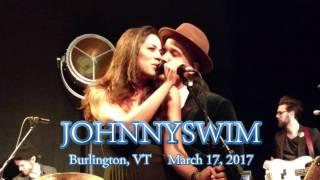JOHNNYSWIM - Burlington, VT - March 17, 2017