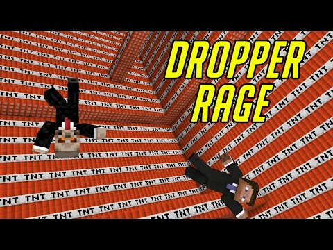 DROPPER RAGE   MINECRAFT