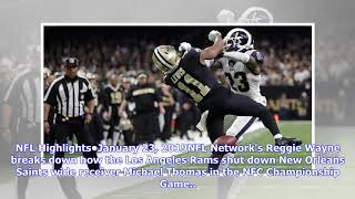 NFL-N-Motion: How the Los Angeles Rams shut down New Orleans Saints wide receiver Michael Thomas