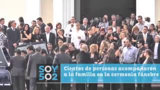 Ricardo Arjona y su familia despidió a su progenitora Nohemí streaming