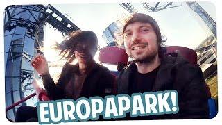 Im Europapark mit Joyce - FMA