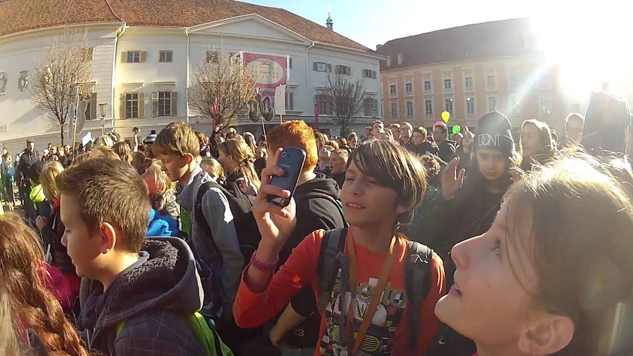 Tag der Kinderrechte: Flashmob in Graz