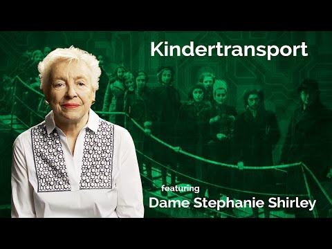 Dame Stephanie Shirley: Kindertransport