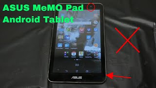 ✅  How To Use ASUS MeMO Pad Android Tablet Review