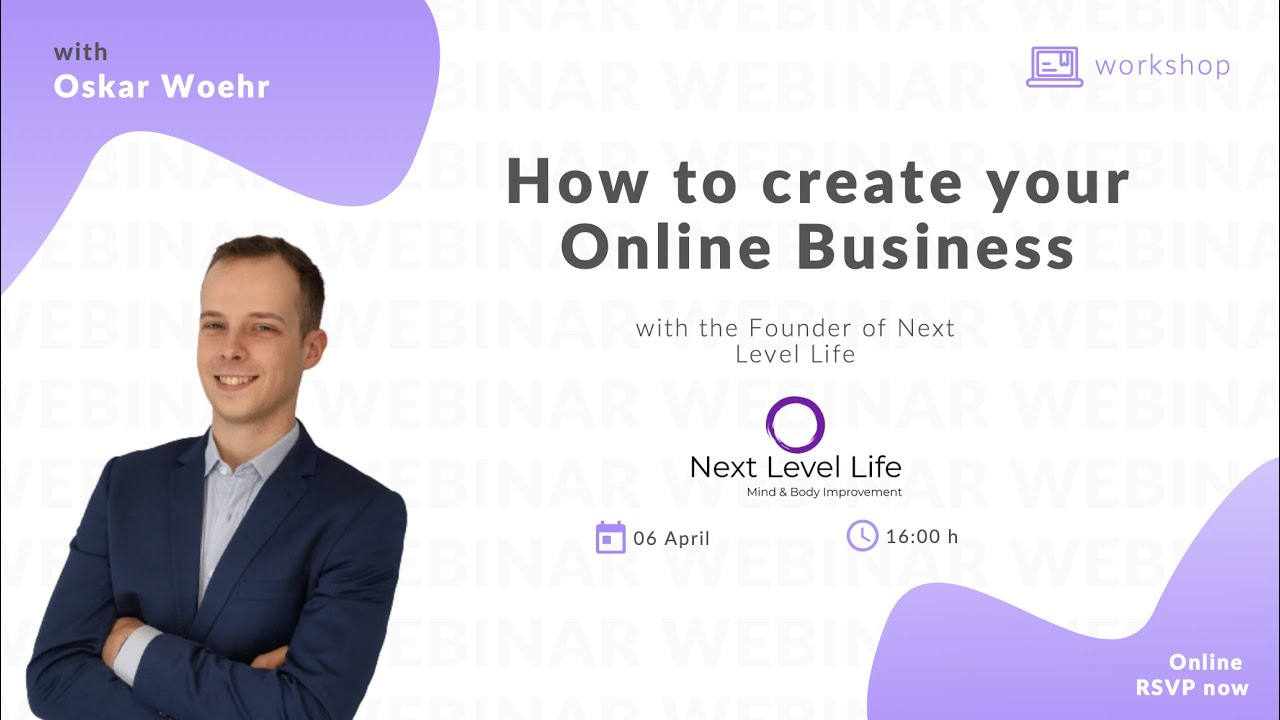 Oskar Woehr on How to Create an Online Business