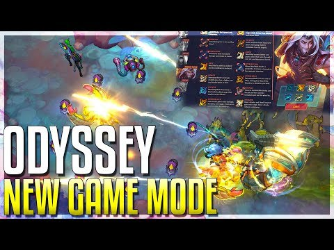 ODYSSEY NEW GAME MODE FREE LOOT Augments & ALL INFO League of Legends