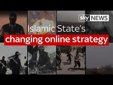 Islamic State's changing online strategy