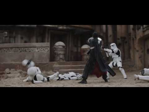 """Rogue One: A Star Wars Story - Clip: """"Chirrut Fights Stormtroopers"""""""