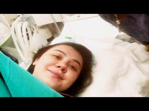 Oksana Rəsulova doğuş zamanı çəkilən video və fotosunu yaydı