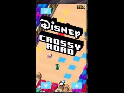 Как открыть секретных персонажей в disney crossy road