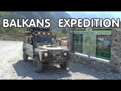 LAND ROVERS EXPEDITION TO THE BALKANS