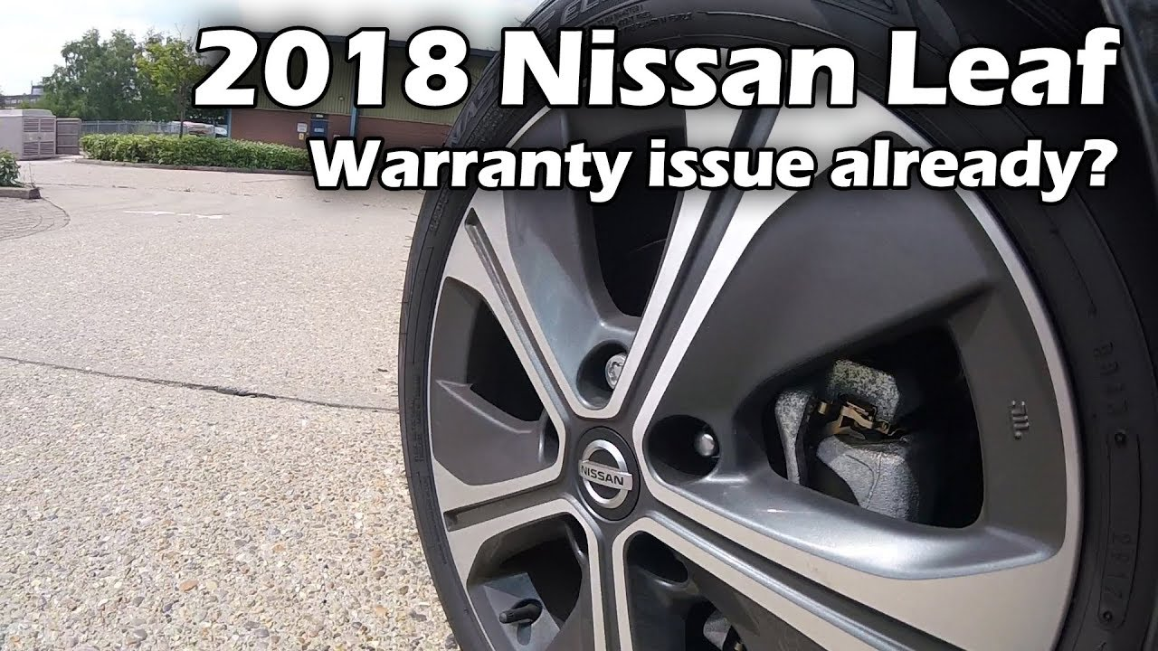 40kWh Nissan Leaf - creaking noise, potential warranty claim?