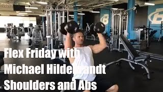Flex Friday with Michael Hildebrandt   Shoulders and Abs