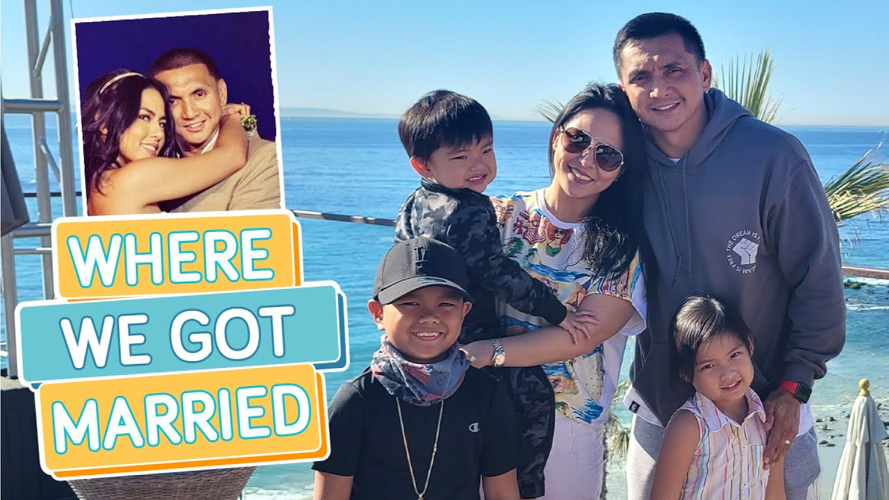 SHOWING OUR KIDS WHERE WE GOT MARRIED - Alapag Family Fun