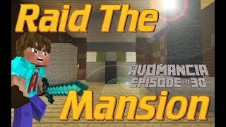 Minecraft | Clearing out a Forest Mansion | Avo Goes Wandering in Avomancia Ep30