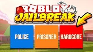 Jailbreak NEW HARDCORE GAME MODE CHALLENGE! 99% Of Players FAIL... (Roblox)