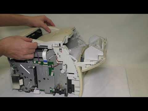 Полная разборка принтера HP LaserJet 1300