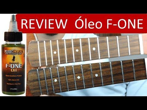 Óleo para Escala F-ONE FRETBOARD OIL MUSIC NOMAD | Dicas de Ukulele #002