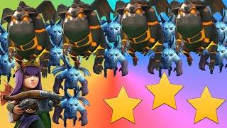 QUATRO LAVA LOONIAN 3 STAR Raiding! Clash of Clans How To LavaLoonian