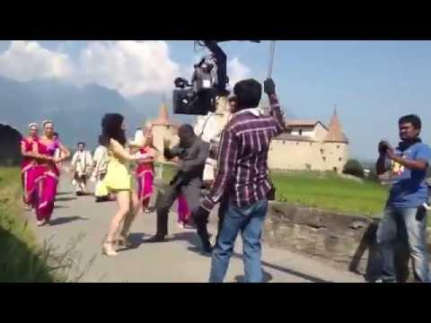 Behind the scenes of Veeram movie song- Tammannah Bhatia and Ajith Kumar