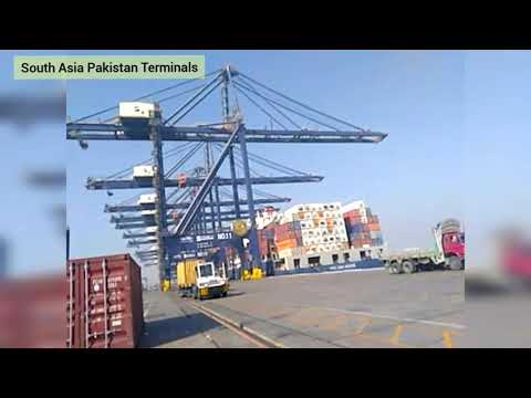 The Port of Karachi is one of South Asia's largest and busie