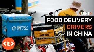 Lens: What is it like for food delivery drivers in China?