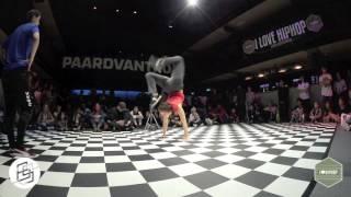 Bgirlsessions bgirl battle 1on1 - prelim - Nina vs Roxanne