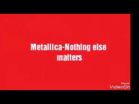 Metallica Nothing Else Matters Deutsche Ubersetzung Jumahitv
