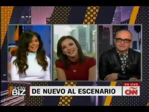 Laura Flores - Invita a El Lunario en Showbiz, de CNN